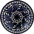 wall plate, traditional pattern